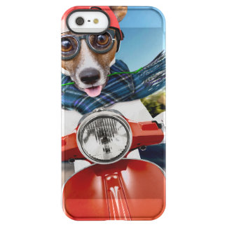 Scooter dog ,jack russell permafrost® iPhone SE/5/5s case