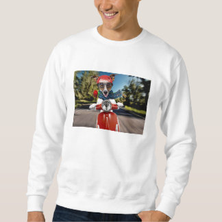 Scooter dog ,jack russell sweatshirt