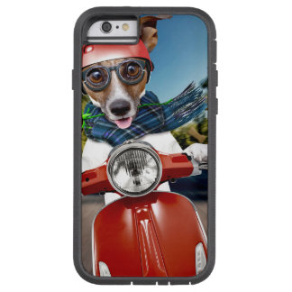 Scooter dog ,jack russell tough xtreme iPhone 6 case