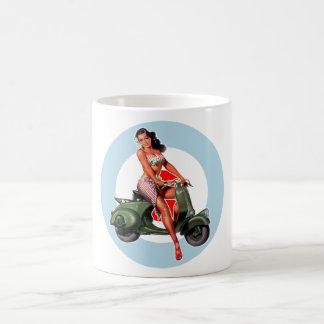 Scooter Girl Coffee Mug