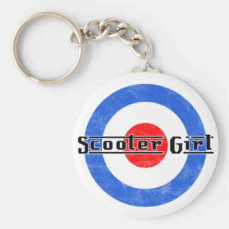 Scooter Girl Lambretta keychain