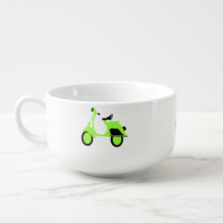 Scooter Green Soup Mug