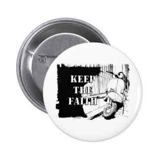 Scooter Keep the Faith 2 Inch Round Button