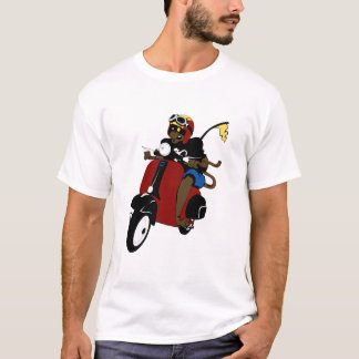 Scooter Monkey T-Shirt