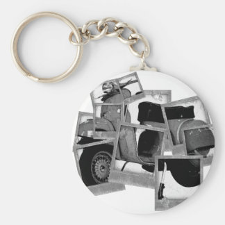 Scooter Montage Key Chain