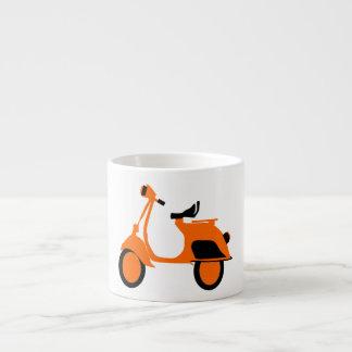 Scooter Orange Espresso Cup