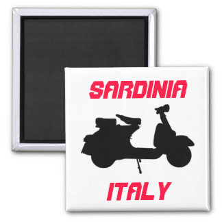 Scooter, Sardinia, Italy Magnet