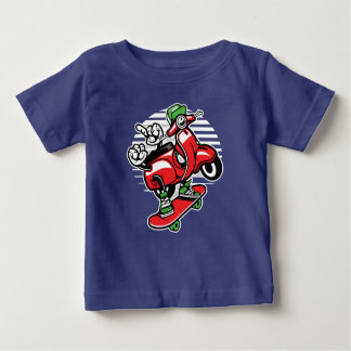 Scooter Skater Baby's T-Shirt