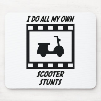 Scooter Stunts Mouse Pads