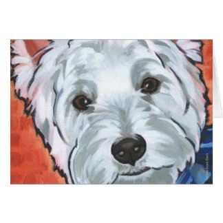 Scooter the Westie Card