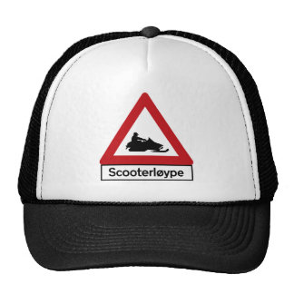 Scooter Track (1), Traffic Sign, Norway Trucker Hat