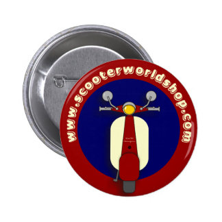 Scooter World Badge 2 Inch Round Button