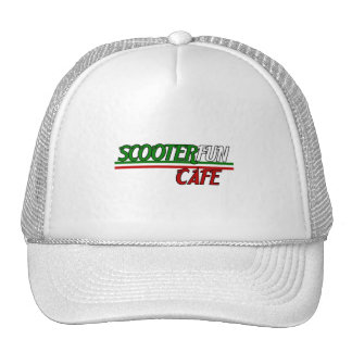 Scooterfun Cafe Trucker Hat