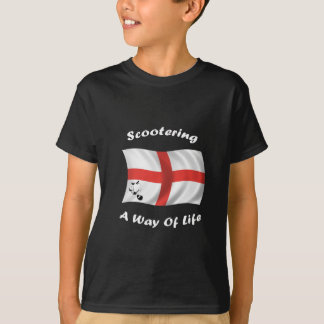 scootering way of life flag T-Shirt
