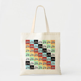 Scooters Budget Tote Bag