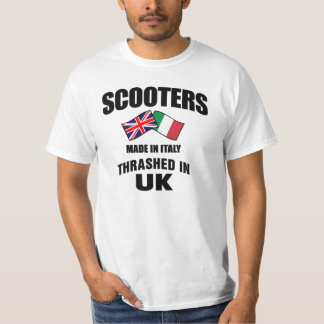 Scooters Made In Italy Thrashed in UK T-Shirt