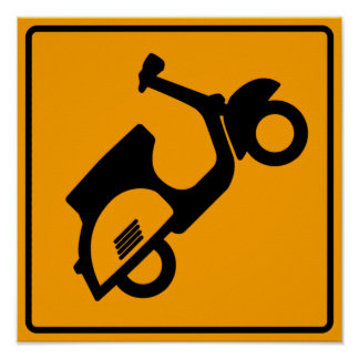 Scooters Road Sign