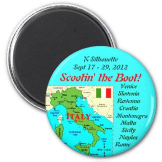 scootin'theboot fridge magnet