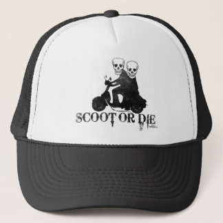 ScootOrDie Trucker Hat