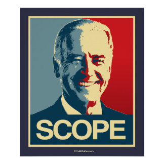 SCOPE IT OUT POSTER