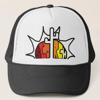 Scorch Colored Sun Trucker Hat
