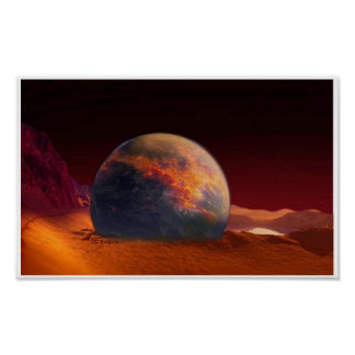 scorched planet poster