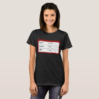 Score Card Shirsey T-Shirt