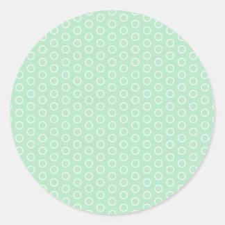 scored polka dots dab samples circles spots stickers