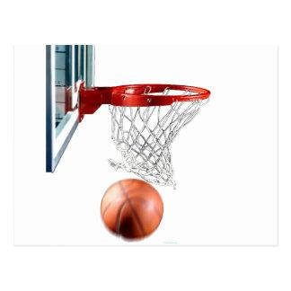 Scoring Machine Basketball Postcard