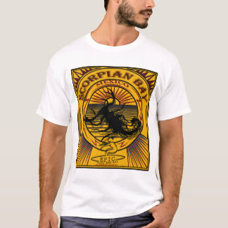 SCORPIAN BAY BAJA MEXICO SURFING T-Shirt