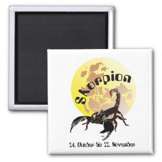 Scorpio 24 October until 22 November magnet