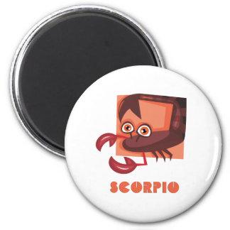 Scorpio 2 Inch Round Magnet