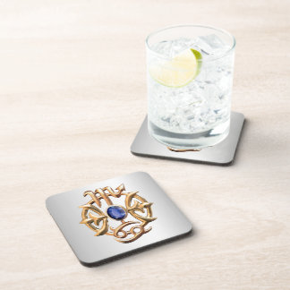 Scorpio and Pisces Medallion Coaster