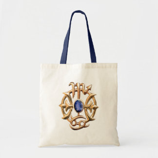 Scorpio and Pisces Medallion Tote Bag