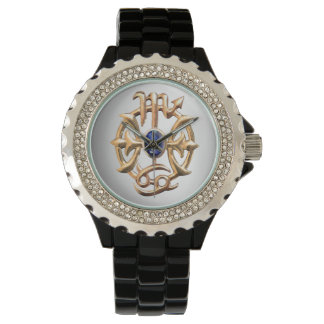 Scorpio and Pisces Medallion Watch