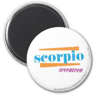 Scorpio Aqua Refrigerator Magnets