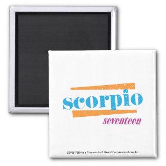 Scorpio Aqua Refrigerator Magnet