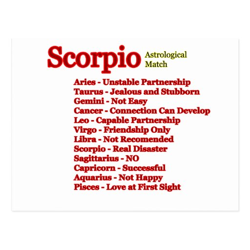 two scorpios in love match When cancer and scorpio come together for love or any kind of relationship, two kindred spirits may have just met their match these two sensitive beings are both afraid to let their guard down, but feel safe with each other.