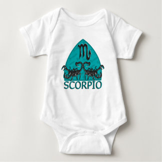 Scorpio Astrological Sign Baby Bodysuit