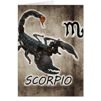 scorpio astrology 2017 card