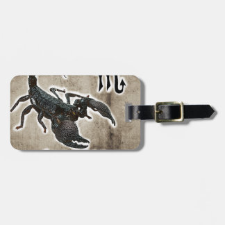 scorpio astrology 2017 luggage tag