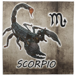 scorpio astrology 2017 napkin
