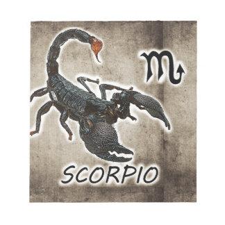 scorpio astrology 2017 notepad