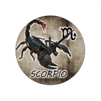 scorpio astrology 2017 round clock