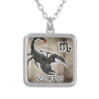 scorpio astrology 2017 silver plated necklace