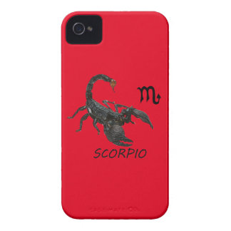 Scorpio astrology iPhone 4 Case-Mate case