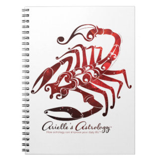 Scorpio Astrology Notebook