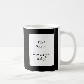 Scorpio astrology sign humorous mug