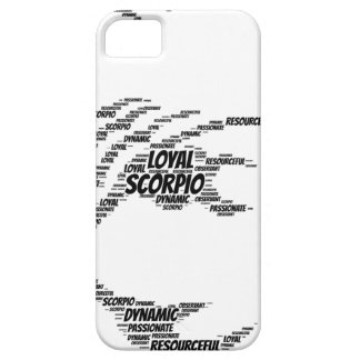 Scorpio Astrology Zodiac Sign Word Cloud Case For The iPhone 5
