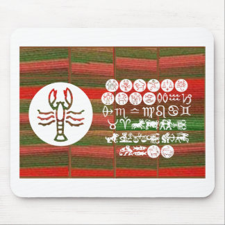 SCORPIO Astrology Zodiac Symbol Mouse Pad